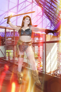Miss Kitty's Cosplay as Red Sonja