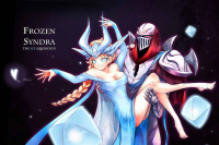 Syndra/Elsa of Arendelle from chanseven