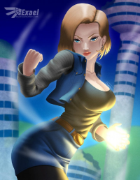 Android 18 from Exael-X
