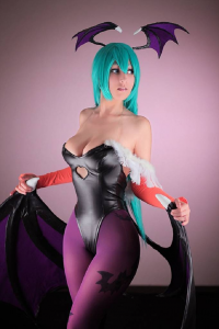 Dalin Cosplay as Morrigan Aensland