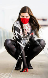Drawn To Cosplay as Silk