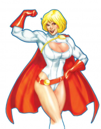 Power Girl from Andy Smith