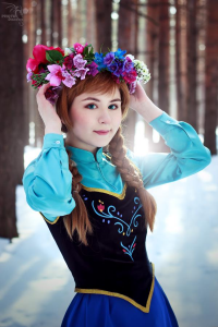 Glowing Pearl as Anna of Arendelle