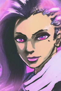 Sombra from Americanxninja