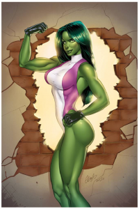 She-Hulk from Elias Chatzoudis