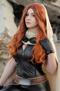 Shappi as Mara Jade Skywalker