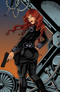 Black Widow from Brandy Dixon