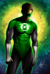 Green Lantern from Aaron Page