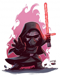 Kylo Ren from Derek Laufman