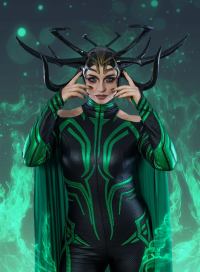 Ferasha Cosplay as Hela