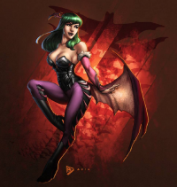Morrigan Aensland from Facundo Moyano