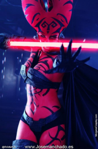 Morgana Cosplay as Darth Talon