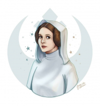 Leia Organa from Gabiuliana