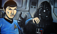 Spock, Darth Vader from Kevin Messer