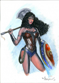 Wonder Woman from Angelo Artur De Capua