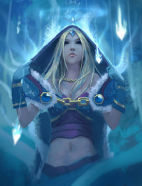 Crystal Maiden from Finalknight6