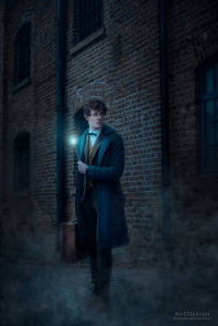 Matt Elliott as Newt Scamander