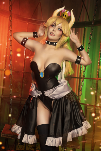 Helly von Valentine as Bowsette