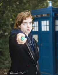 Unknown Female Artist as 13th Doctor