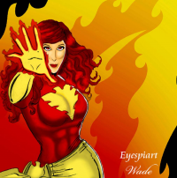 Dark Phoenix from Jeff Wade