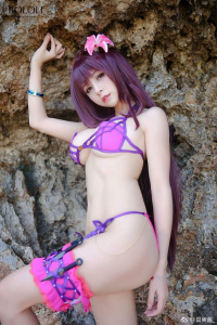 夏美酱_ as Scathach