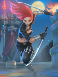 Katarina from Unknown Artist