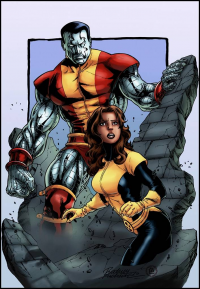 Colossus, Kitty Pryde from logicfun