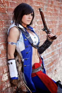 Jessica Nigri as Conner Kenway