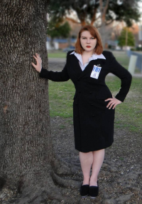 Shadow Kat Cosplay as Dana Scully