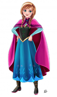 Anna of Arendelle from acesla