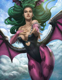 Morrigan Aensland from Arturo Z. Gutierrez