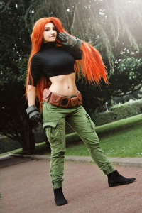 Daisy Cosplay as Kim Possible