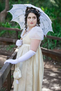 Duchess Silk as Elizabeth Bennet