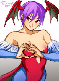 Lilith Aensland from Minacream