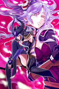 Irelia, Syndra from Syndra X Irelia transcendent