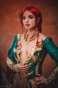Ferasha Cosplay as Triss Merigold