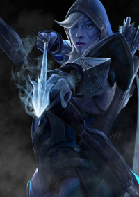 Drow Ranger from doneplay