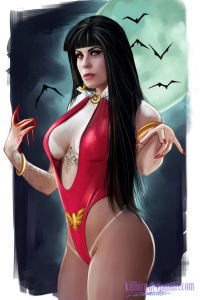 Vampirella from Fernando Neves Rocha