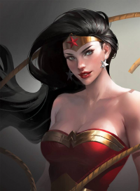 Wonder Woman from Sakimi Chan