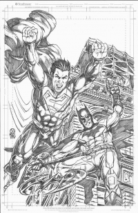 Batman, Superman from Daniel Dahl