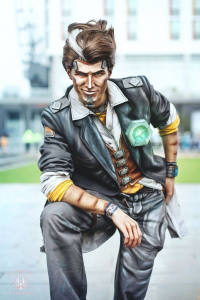 Feinobi Cosblay as Handsome Jack