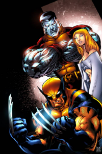 Colossus, Emma Frost, Wolverine from Thiago Afonso Silva