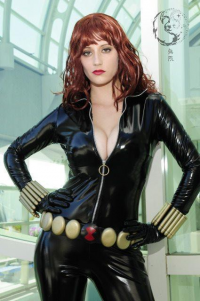 Abby Dark-Star as Black Widow