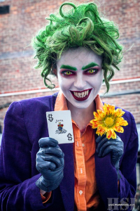Thecommercialkid as The Joker