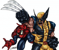 Spider-Man, Wolverine from Fernando Funk