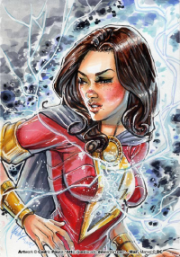 Mary Marvel from J-Estacado