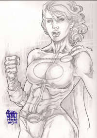 Power Girl from David Lee