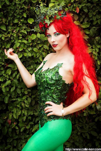 Ellie Christina as Poison Ivy