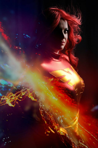 Jenna Cosplay as Dark Phoenix