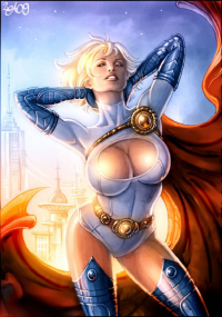Power Girl from Candra